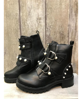 Bottines Chic mattes - noir